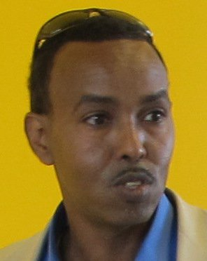 Abdirashiid Sheikh, formand for Somali Community